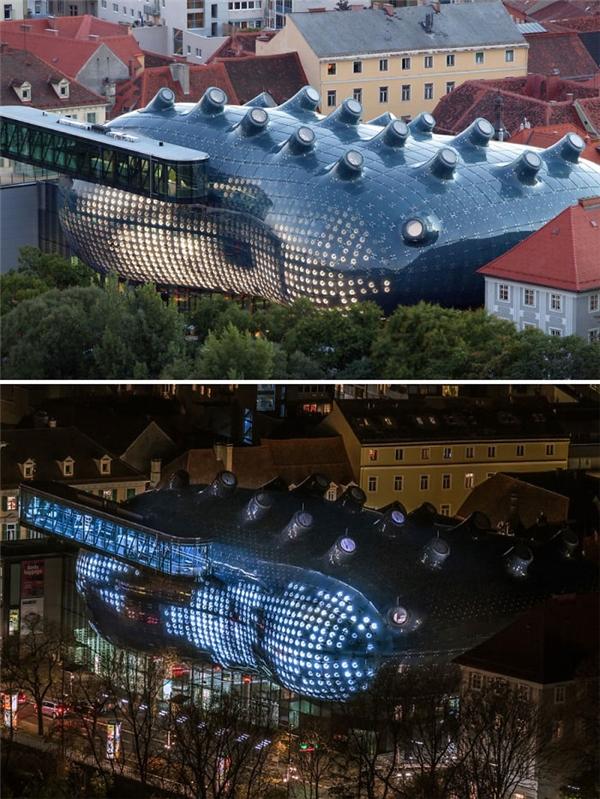 Bảo tàng Nghệ thuật Graz,Áo. (Ảnh: internet)