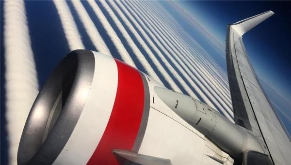 Sự xuất hiện tại phía nam của những đám mây này là điều bất thường. (Ảnh: internet)
