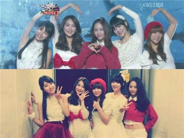 """Các cô gái cùng tuổi đã từng là những người bạn rất thân, và cùng là những """"em út vàng"""" của các nhóm nhạc."""