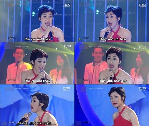 """Hòa Minzykhi đóng giả nữ ca sĩMỹ Linhđã có 500 sắc thái """"bá đạo"""" khiến người xem phải cười """"nghiêng ngả"""".(Ảnh: Internet)"""