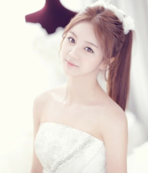 Hình ảnh xinh đẹp, trong trẻo của Hye Ri khi mới debut cùng Girl's Day.