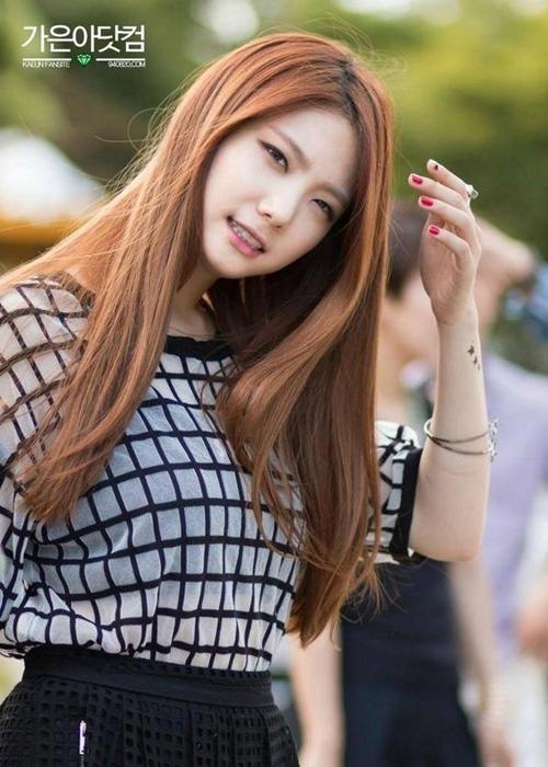 Thành viên cuối cùng của After School -Ka Euntuysở hữu gương mặt xinh đẹp và thân hình lí tưởng nhưng lại không may mắn là chưa kịp toả sáng đã phải nói lời tạm biệt Kbiz khi mới bước chân vào không bao lâu vì lí do After School rã nhóm.