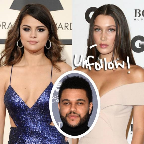 Bella lập tức unfollow Selena trên Instagram.