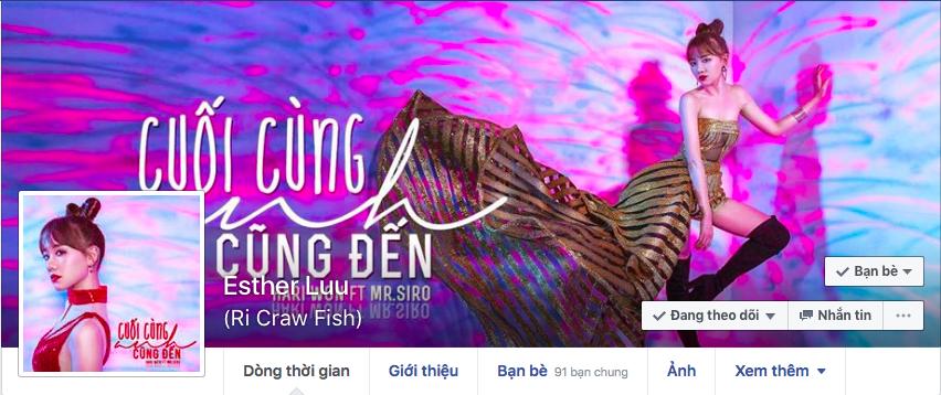 """Tên trang cá nhân của Hari Won được thay đổi thành """"Ri Craw fish"""" - Tin sao Viet - Tin tuc sao Viet - Scandal sao Viet - Tin tuc cua Sao - Tin cua Sao"""
