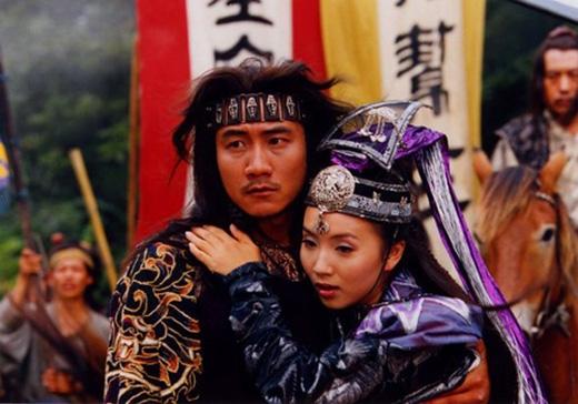 A Tử và Kiều Phong trở thành một trong nhữngcặp đôi cổ trang màn ảnh được yêu thích nhất lúc bấy giờ.