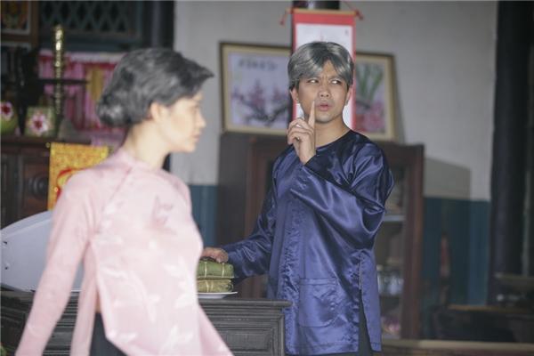 Tim, Trương Quỳnh Anh hóa ông bà già cực đáng yêu - Tin sao Viet - Tin tuc sao Viet - Scandal sao Viet - Tin tuc cua Sao - Tin cua Sao