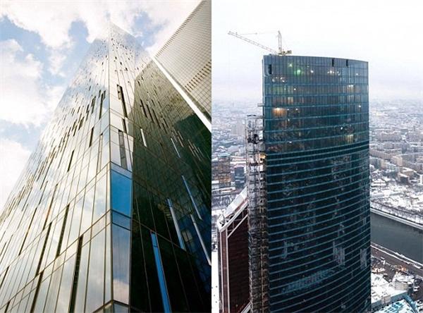 OKO được đánh giá là tòa nhà cao nhất châu Âu,bao gồm khu vực văn phòng và nhà ở nằm ở Moscow.