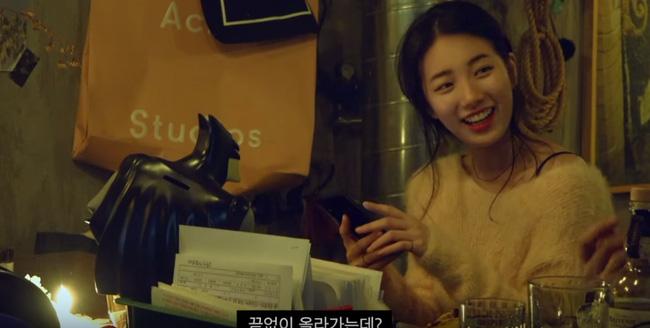 Những hình ảnh của Suzy trong show thực tế gây tranh cãi.