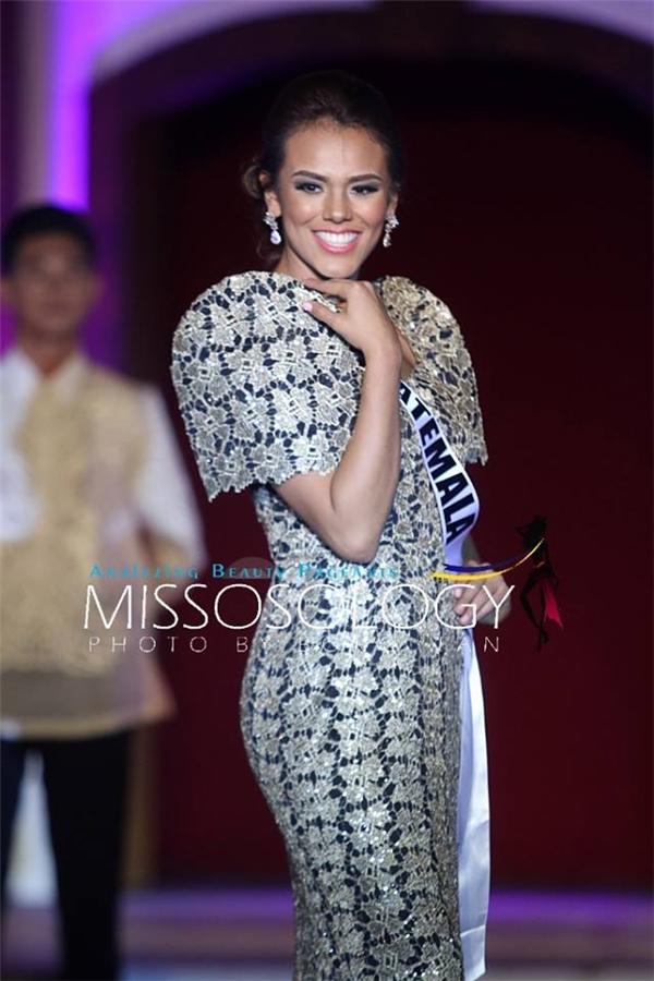 Hoa hậu Guatemala Virginia Argueta