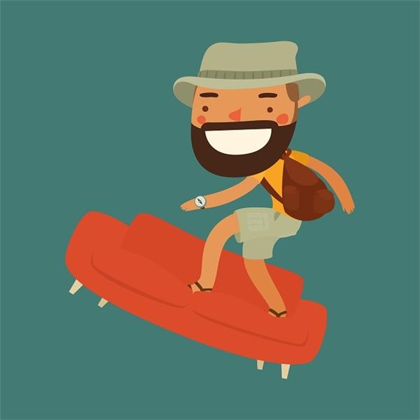 Cộng đồng Couch – Surfing giúp nhiều người có thêm trải nghiệm du lịch thú vị.
