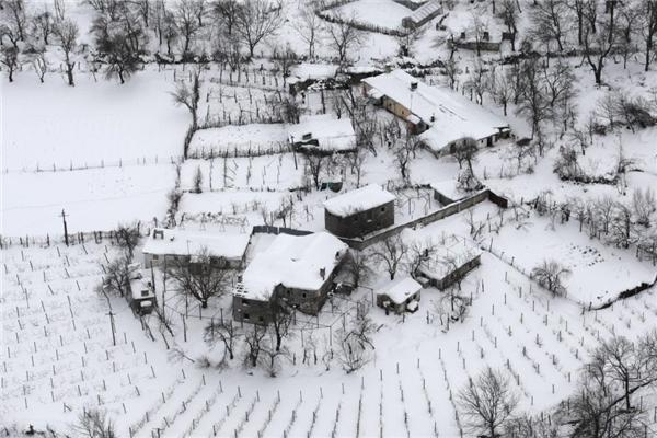Hóa đá với mùa đông châu Âu lạnh nhất 1 thế kỷ trở lại đây