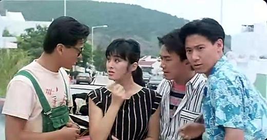 Cô sánh vai cùng các tài tử nổi danh Hongkong như Châu Tinh Trì, Trương Học Hữu, Lê Minhkhi tuổi đời còn rất trẻ.