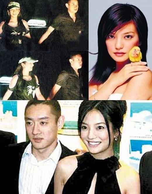 Chuyện tình với thiếu gia Uông Vũ tốn nhiều giấy mực của báo chí cũng tan vỡ vì sự xuất hiện của Triệu Vy.