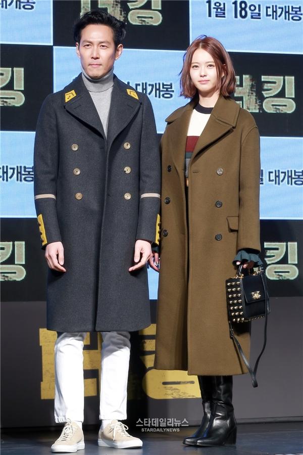 Lee Jung Jae và Go Ara