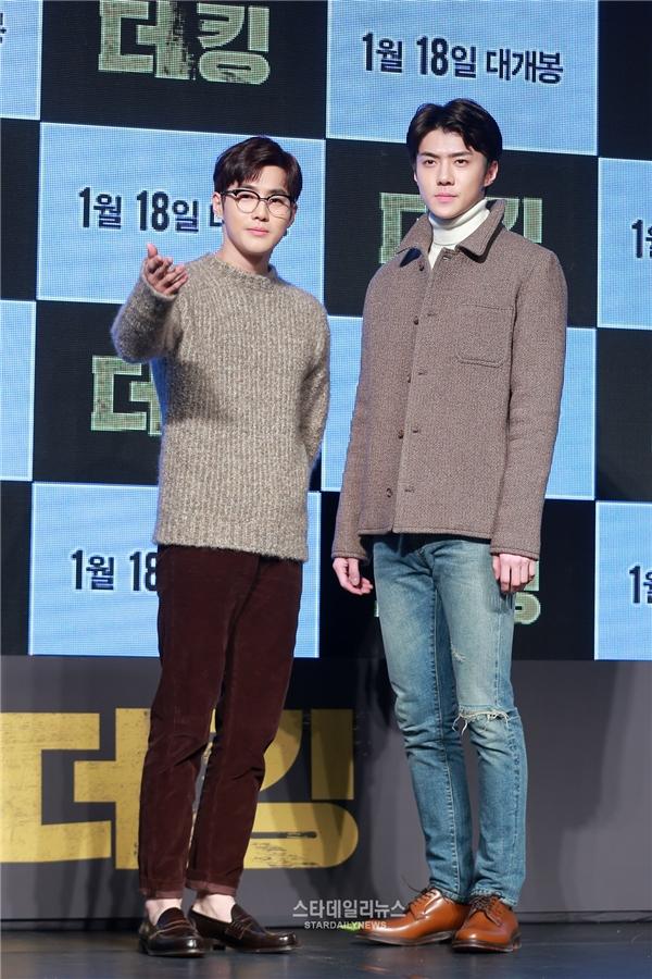 Suho và Sehun (EXO)