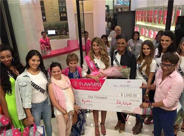 Sau phần thi, Mariam Habach nhận được giải thưởng Flawless Award do một nhãn hàng mỹ phẩm tài trợ.
