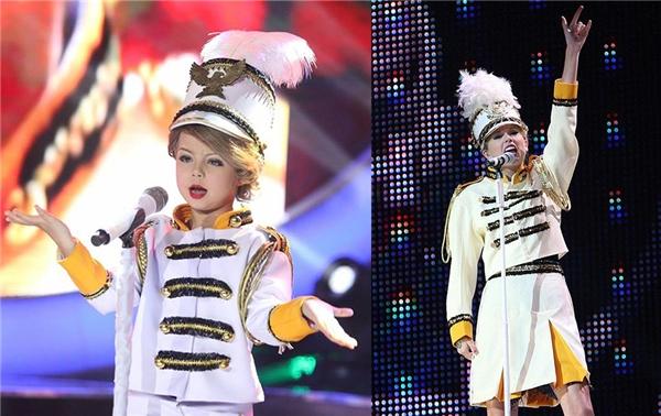 Có lẽ đến cả Taylor Swift cũng phải gật gù công nhận Xia chính là phiên bản nhí hoàn hảo nhất của mình.