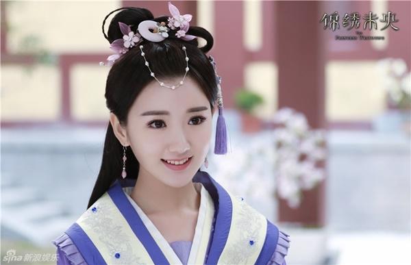 Vai diễn Lý Thường Nhưcủa Mao Hiểu Đồng trong Cẩm Tú Vị Ương được bình chọn là mĩ nữ cổ trang xinh đẹp nhất.