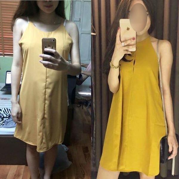 Cái kết đắng của việc mua một chiếc váy có giá thành rẻ gần phânnửa so với giá thị trường.(Ảnh: Internet)