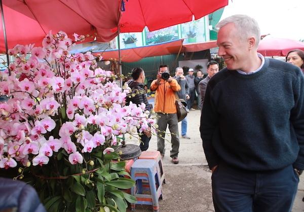 Khi được hỏi về kế hoạch cho Tết năm nay, ông cho biết sẽ khám phá hang Sơn Đoòng trước Tết.