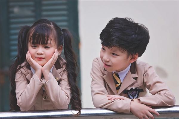 Học sinh tiểu học Tuyên Quang gây sốt với đồng phục Hàn Quốc cực cute