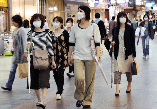 Dịch cúm hoành hành Nhật Bản. (Ảnh: internet)