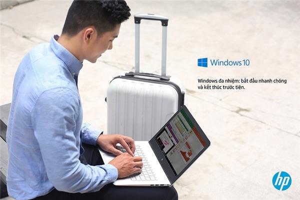 Với trọng lượng chỉ từ 1,34kg và độ dày chỉ 13,9mm, HP ENVY Laptop giúp bạn dễ dàng di chuyển và sử dụng trong những chuyến du lịch.