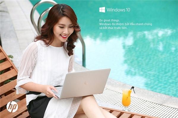 Mang theo HP ENVY Laptop trong những chuyến đi, khởi chạy ứng dụng hay xuất video, hình ảnh dễ dàng và nhanh chóng hơn.