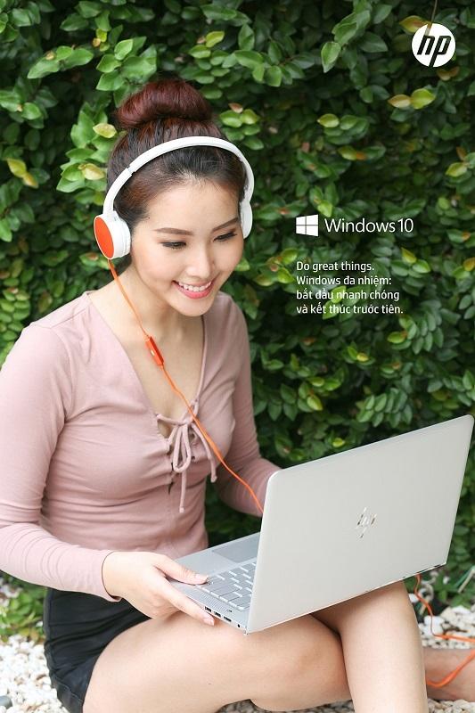 Với HP ENVY Laptop, bạn có thể tận dụng thời gian nhàn rỗi để giải trí cực đỉnh.