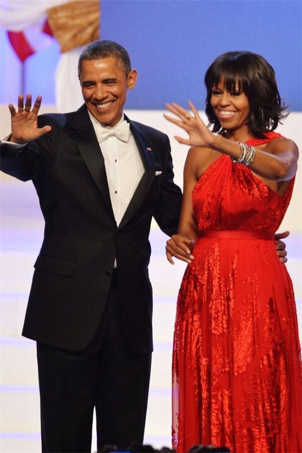 Vợ chồng Obama trong buổi phát biểu cuối cùng trước khi hết nhiệm kỳ tổng thống