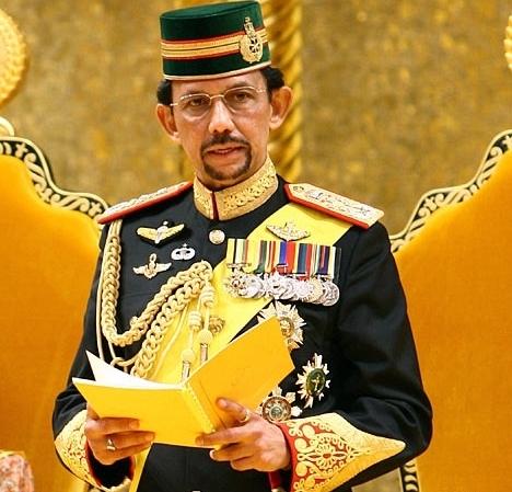 Quốc Vương Hassanal Bolkiah - người đàn ông quyền lực nhấtBrunei. (Ảnh: internet)