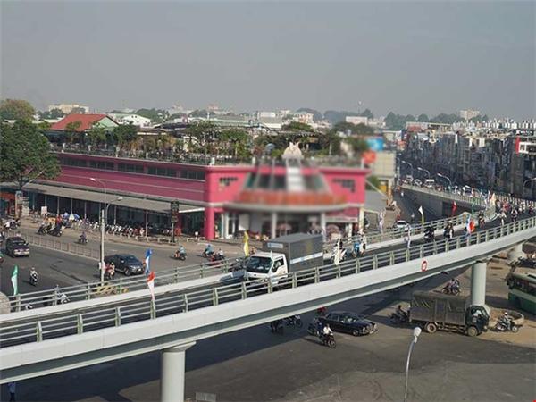 Sáng 19/1, TP. HCM đã bắt đầu đưa vào khai thác nhánh 1 cầu vượt ngã sáu Gò Vấp. (Ảnh: Internet)