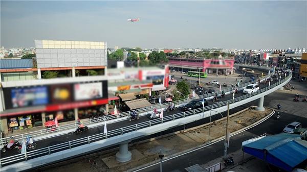 Trước khi có cầu vượt, khu vực ngã sáu Gò Vấp thường xuyên bị kẹt xe vào giờ cao điểm. (Ảnh: Internet)