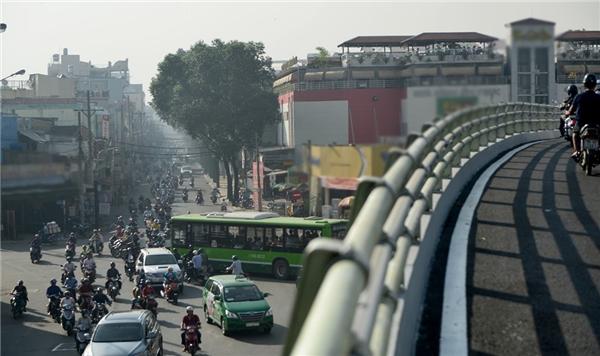 Nhánh Phạm Ngũ Lão – Nguyễn Oanh dài 280,7m, rộng 6m gồm 8 nhịp liên tục, dự kiến sẽ khởi công vào đầu tháng 4/2017. (Ảnh: Internet)