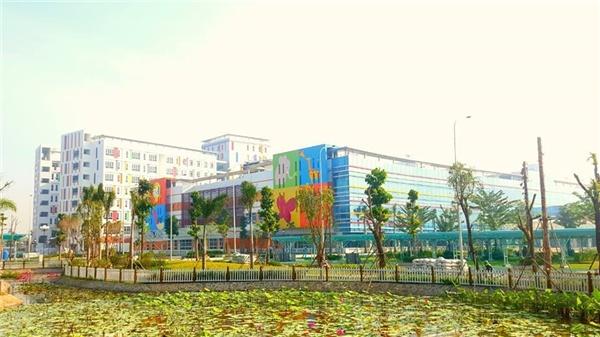 Bệnh viện nhi tuyệt đẹp, phục vụ chuẩn quốc tế với phí khám chỉ 20.000