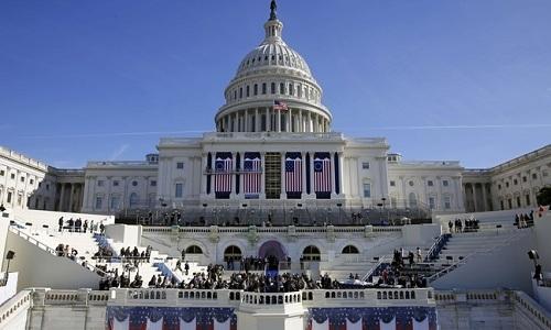 Ông Trump sẽ tuyên thệ nhậm chức ở tòa nhà Quốc hội Mĩ.