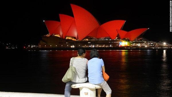 Thành phố Sydney (Australia) là một trong những thành phố nước ngoài đông người Trung Quốc nhất.