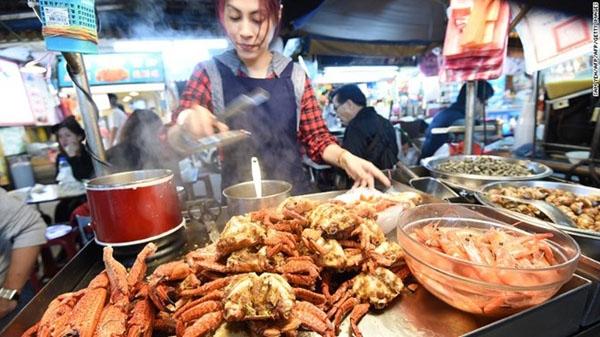 Chợ đêm Nhiêu Hà ở Đài Bắc (Đài Loan) chính là địa điểm lý tưởng để bắt đầu một năm mới.
