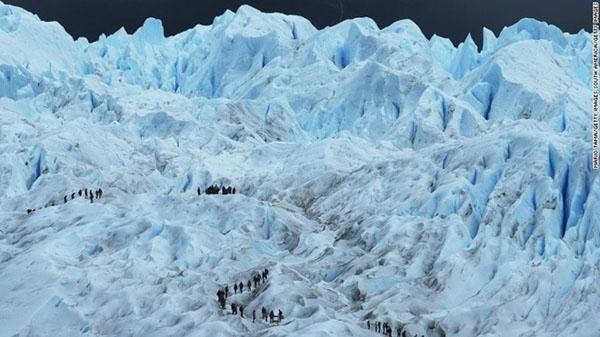 Công viên Quốc gia Los Glaciares thuộc vùng Patagonia, Argentina.