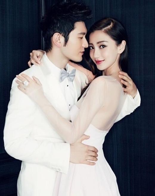 """Angela Baby - Huỳnh Hiểu Minh """"hút"""" truyền thông với đám cưới sang trọng bậc nhất của mình."""
