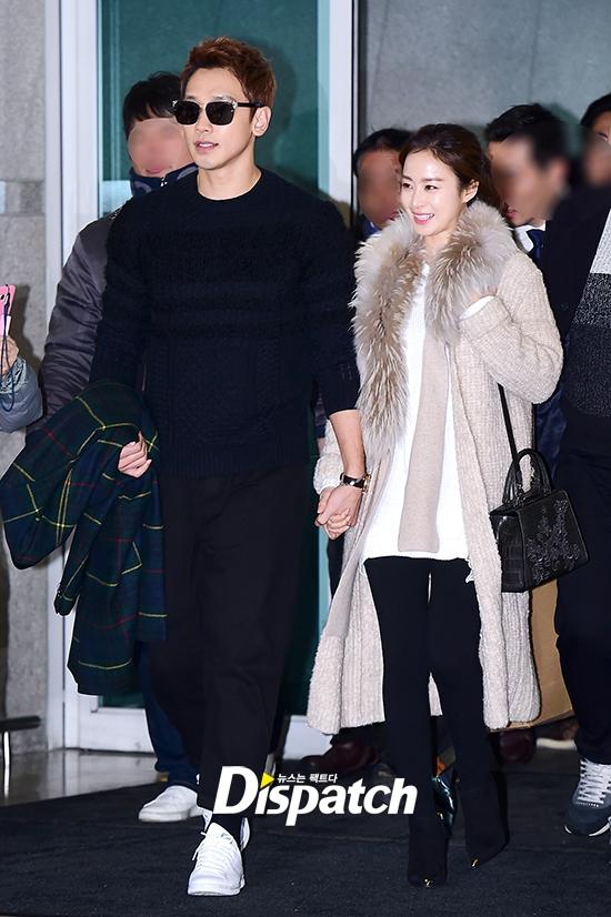 Bi Rain và Kim Tae Hee tay trong tay lên đường đi Bali trăng mật