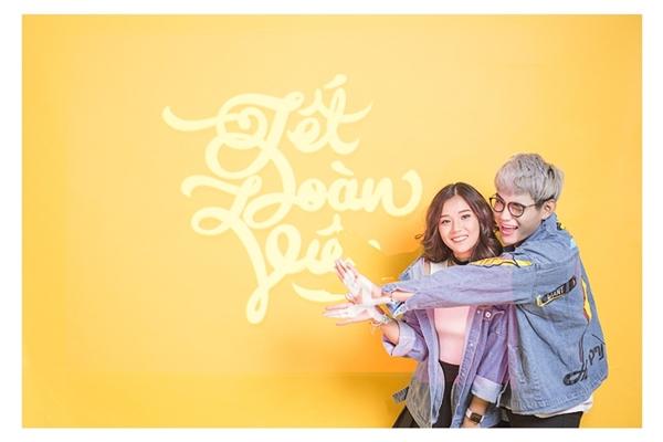 Hoàng Yến Chibi và TINO siêu dễ thương trong MV đón Tết