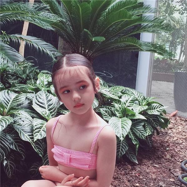 Bayleetham gia làm mẫu ảnh từ khi còn 4 tuổi.(Ảnh: Internet)