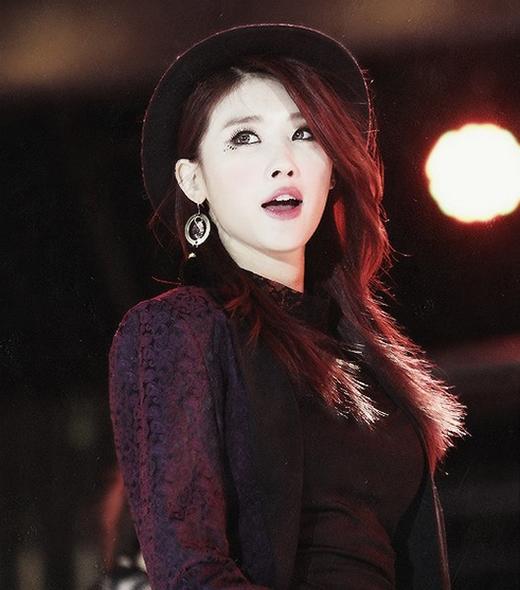 Thành viên Nine Muses Hyuna.