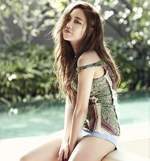 Cựu thành viên Miss A Feingười nắm giữ một sắc vóc vô cùng mỹ miều.