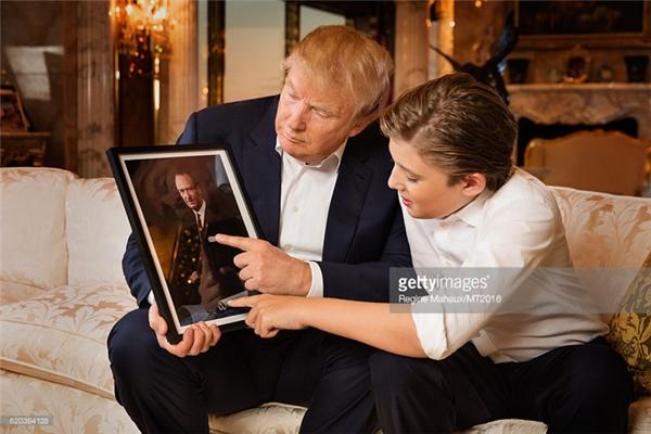 Cậu bé sẽ theo chân bố đến sống tại Nhà Trắng trong khoảng 6 tháng nữa.