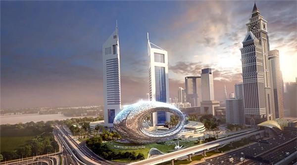 Chiêm ngưỡng kiến trúc siêu độc dùng công nghệ 3D ở Dubai