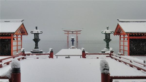 Tuyết rơi dày đi kèm theo cái lạnh buốt giá là cảnh tượng rất quen thuộc.