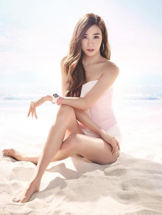 Tiffany vốn nổi tiếng với hình ảnh dễ thương, trong sáng.