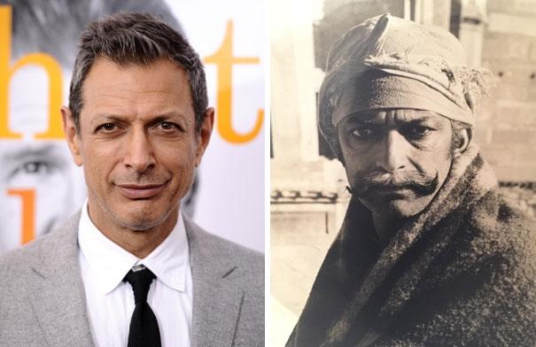 Jeff Goldblum và người họ hàng xa bên Ấn Độ